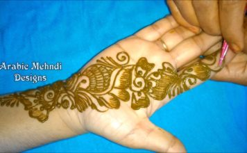 mehndi designs for hands easy and simple