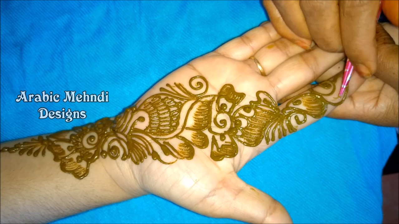 Mehndi Designs For Hands Easy And Simple Arabic Mehandi Designs