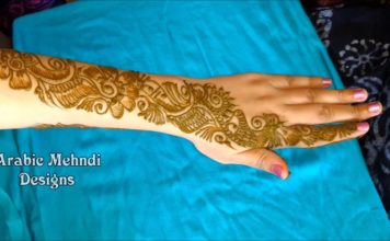mehndi designs for back hands