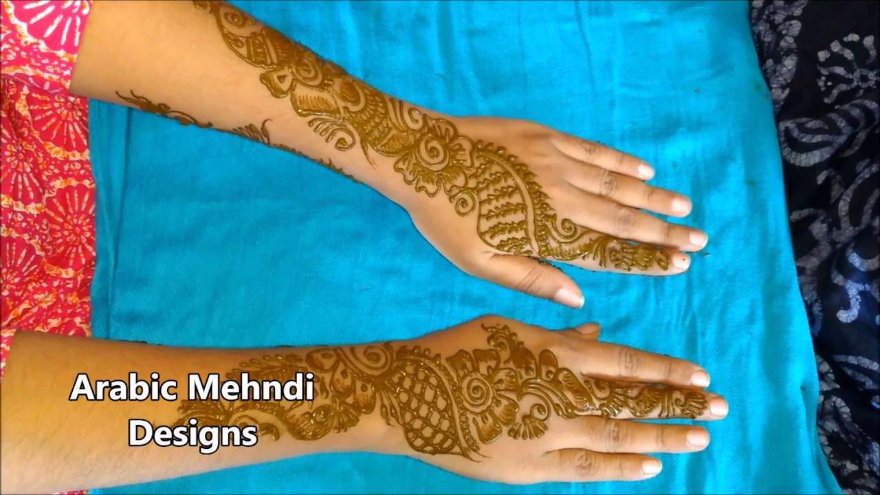 Arabic Mehndi Designs Mehndi Designs For Hands Simple And Easy For
