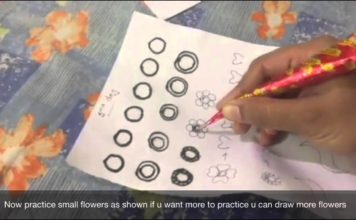 Mehndi Design Tutorials For Beginners, Arabic Design 2 | Saranya's Mehndi | TNBN Tv LIVE